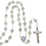 Saint Benedict Rosary Gift Set w/ Key Chain