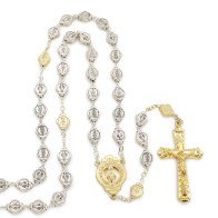 Miraculous Medal Rosary Gift Set with Keychain