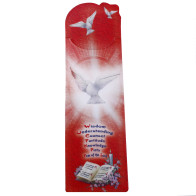 Confirmation Wooden Pendant w/ Bookmarker