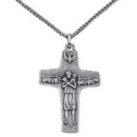 The Original Pope Francis Cross by Vedele-2 inch with chain