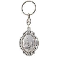 Fatima Centennial Spinning Keychain