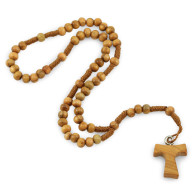 Olive Wood Beads String Rosary