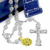 Rosary Filigree Beads Our Lady of Miracles Sterling Silver