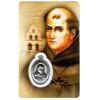 Saint Junipero Serra, Prayer Card