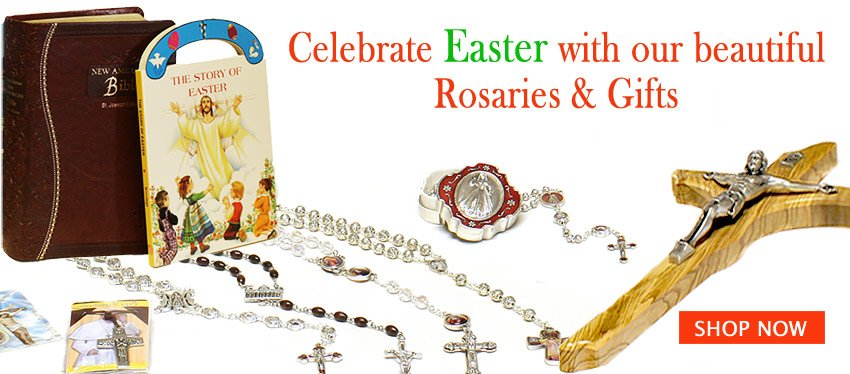 Easter Rosaries and Gifts | Rosary Mart.com