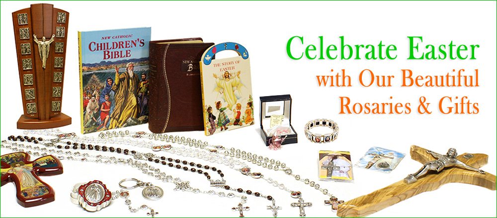 Catholic Easter Gifts For Sale | RosaryMart.com