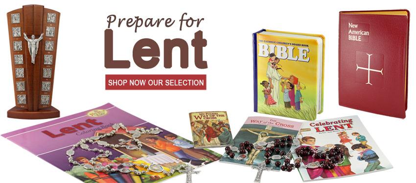 Celebrate Lent  | Rosary Mart.com