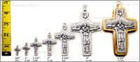 Pope Francis Cross comparison chart.