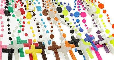Plastic Beads Rosaries