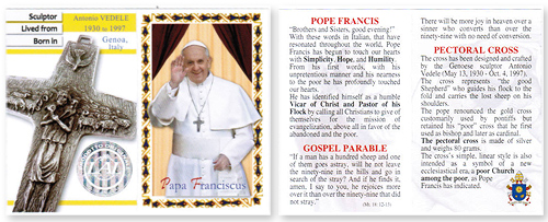 Pope Francis Cross