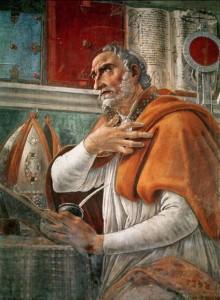 Saint Augustine Portrait - Rosary Mart.com