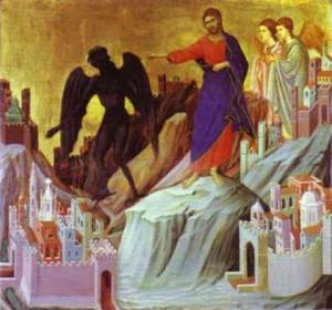 Temptation of Jesus Rosary Mart.com