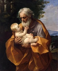 Guido_Reni_-_St_Joseph_with_the_Infant_Jesus | Rosary Mart